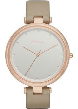 Швейцарские наручные  женские часы Skagen SKW2484. Коллекция Leather