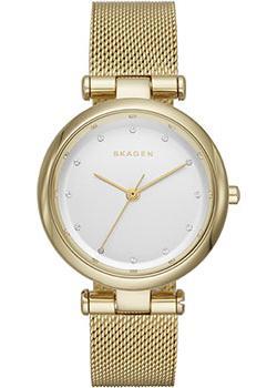 Швейцарские наручные  женские часы Skagen SKW2486. Коллекци Mesh