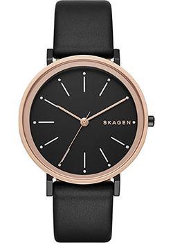 Швейцарские наручные  женские часы Skagen SKW2490. Коллекция Leather