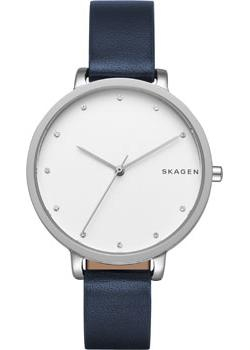 Швейцарские наручные  женские часы Skagen SKW2581. Коллекция Leather