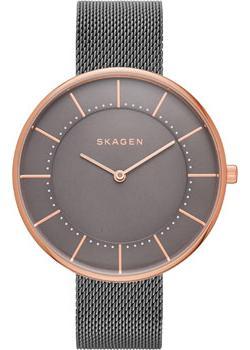 Швейцарские наручные  женские часы Skagen SKW2584. Коллекци Mesh