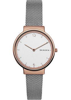 Швейцарские наручные  женские часы Skagen SKW2616. Коллекция Mesh