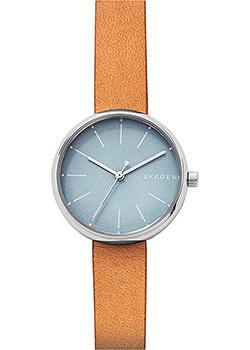 Швейцарские наручные  женские часы Skagen SKW2620. Коллекция Leather