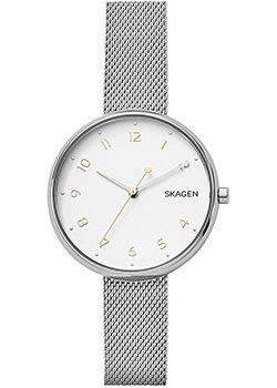 Швейцарские наручные  женские часы Skagen SKW2623. Коллекция Mesh