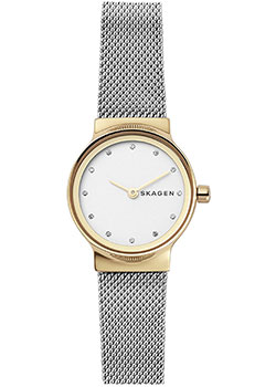Швейцарские наручные  женские часы Skagen SKW2666. Коллекция Mesh