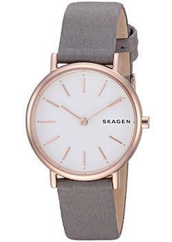 Швейцарские наручные  женские часы Skagen SKW2697. Коллекция Nylon.