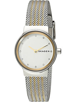 Швейцарские наручные  женские часы Skagen SKW2698. Коллекция Mesh