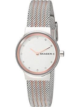 Швейцарские наручные  женские часы Skagen SKW2699. Коллекция Mesh