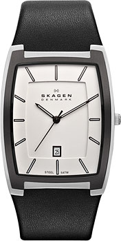 Швейцарские наручные  мужские часы Skagen SKW6003. Коллекция Leather от Bestwatch.ru