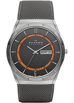 Швейцарские наручные  мужские часы Skagen SKW6007. Коллекци Mesh