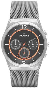Швейцарские наручные  мужские часы Skagen SKW6135. Коллекция Mesh от Bestwatch.ru