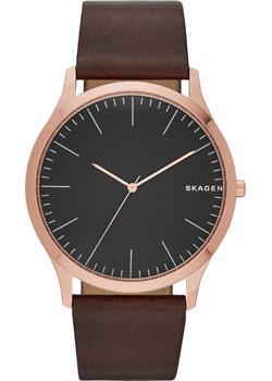 Швейцарские наручные  мужские часы Skagen SKW6330. Коллекция Leather от Bestwatch.ru