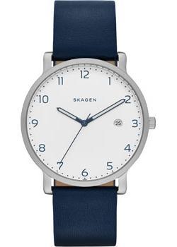 Швейцарские наручные  мужские часы Skagen SKW6335. Коллекция Leather от Bestwatch.ru