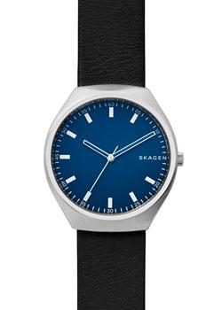 Швейцарские наручные  мужские часы Skagen SKW6385. Коллекция Leather.