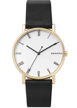 Швейцарские наручные  мужские часы Skagen SKW6426. Коллекция Leather.