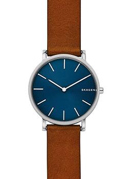 Швейцарские наручные  мужские часы Skagen SKW6446. Коллекция Leather.