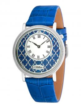 Российские наручные  женские часы Slava 1341469-GL20. Коллекция Браво