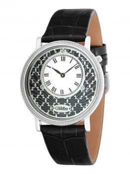 Российские наручные  женские часы Slava 1341470-GL20. Коллекция Браво