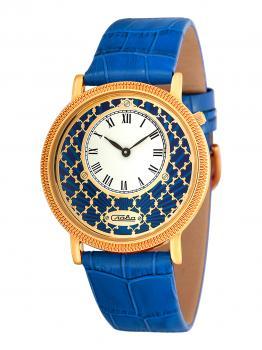 Российские наручные  женские часы Slava 1349471-GL20. Коллекция Браво