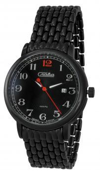 Российские наручные мужские часы Slava 1414712-2115-100. Коллекция Традиция фото