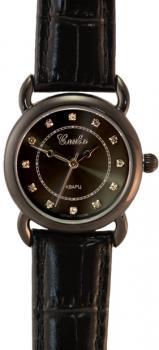 Российские наручные  женские часы Slava 5144077-2035. Коллекция Браво