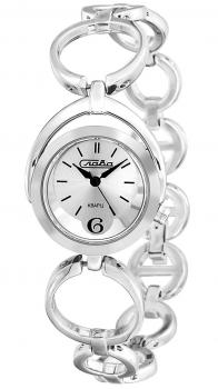 Российские наручные  женские часы Slava 6011181-2035. Коллекция Инстинкт