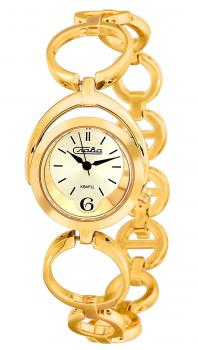 Российские наручные  женские часы Slava 6013182-2035. Коллекция Инстинкт