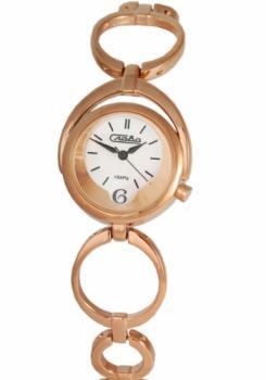 Российские наручные  женские часы Slava 6019208-2035. Коллекция Инстинкт