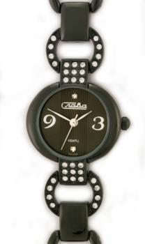 Российские наручные  женские часы Slava 6024093-2035. Коллекция Инстинкт