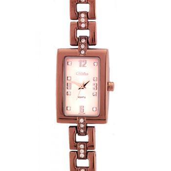 Российские наручные  женские часы Slava 6047100-2035. Коллекция Инстинкт