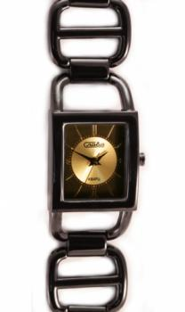 Российские наручные  женские часы Slava 6054107-2035. Коллекция Инстинкт
