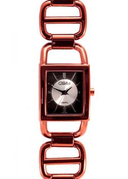 Российские наручные  женские часы Slava 6057108-2035. Коллекция Инстинкт