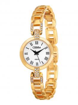 Российские наручные  женские часы Slava 6083119-2035. Коллекция Инстинкт