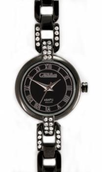 Российские наручные  женские часы Slava 6084121-2035. Коллекция Инстинкт