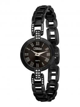 Российские наручные  женские часы Slava 6084507-2035. Коллекция Инстинкт