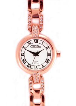Российские наручные  женские часы Slava 6089119-2035. Коллекция Инстинкт
