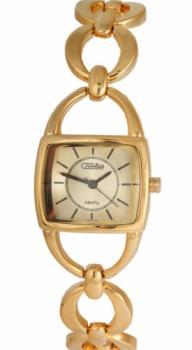 Российские наручные  женские часы Slava 6093206-2035. Коллекция Инстинкт