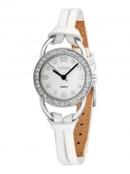 Российские наручные  женские часы Slava 6111186-2035. Коллекция Инстинкт