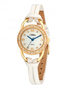 Российские наручные  женские часы Slava 6113187-2035. Коллекция Инстинкт