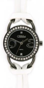 Российские наручные  женские часы Slava 6114136-2035. Коллекция Инстинкт