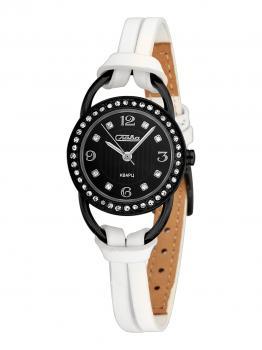 Российские наручные  женские часы Slava 6114203-2035. Коллекция Инстинкт