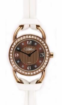 Российские наручные  женские часы Slava 6117204-2035. Коллекция Инстинкт
