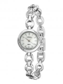 Российские наручные  женские часы Slava 6121189-2035. Коллекция Инстинкт