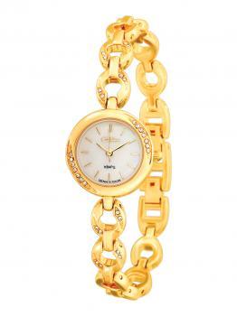 Российские наручные  женские часы Slava 6123190-2035. Коллекция Инстинкт