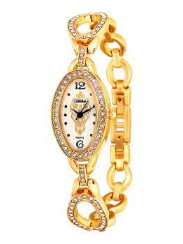 Российские наручные  женские часы Slava 6133192-2035. Коллекция Инстинкт