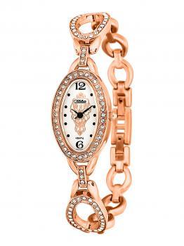 Российские наручные  женские часы Slava 6139143-2035. Коллекция Инстинкт