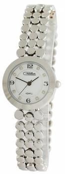 Российские наручные  женские часы Slava 6151172-2035. Коллекция Инстинкт