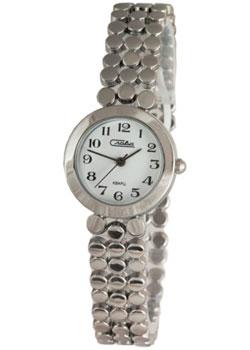 Российские наручные  женские часы Slava 6151195-2035. Коллекция Инстинкт
