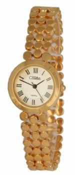 Российские наручные  женские часы Slava 6153154-2035. Коллекция Инстинкт