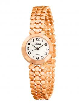 Российские наручные  женские часы Slava 6159195-2035. Коллекция Инстинкт